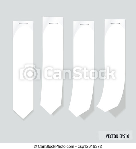 Set of labels with place for text. Vector illustration. - csp12619372
