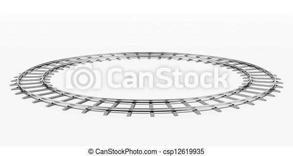 Ring railway - csp12619935