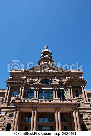 Historic Tarrant County Courthouse - csp12620461