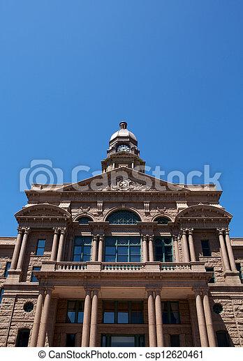 Historic Tarrant County Courthouse - csp12620461