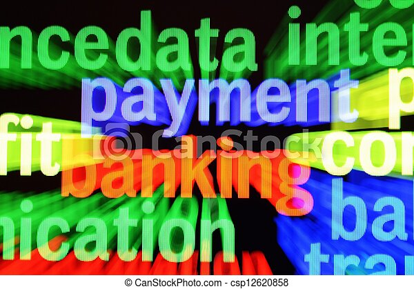 Payment banking concept - csp12620858
