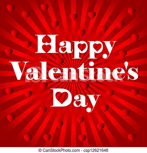 Happy Valentine's Day - csp12621648