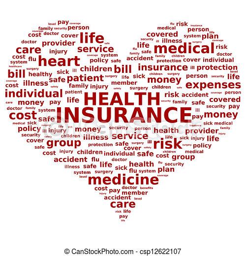 Health insurance. - csp12622107