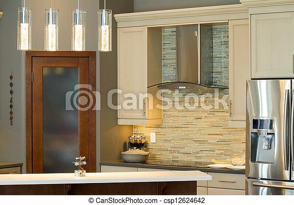 Kitchen Interior Design - csp12624642