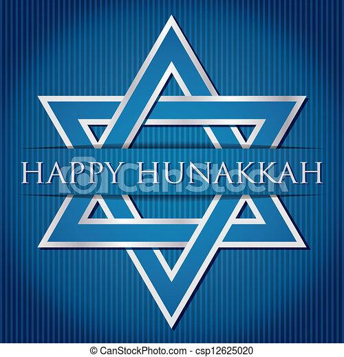 Happy Hanukkah - csp12625020