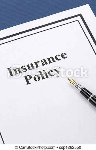 Insurance Policy - csp1262550