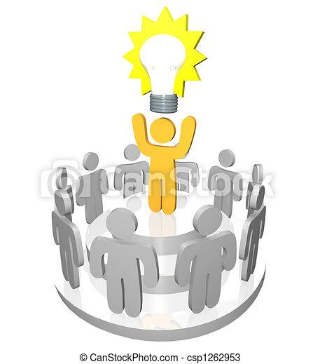 Presenting the Big Idea - csp1262953