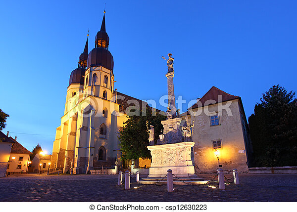 Saint Nicolas church in Trnava, Slovakia - Eastern Europe - csp12630223