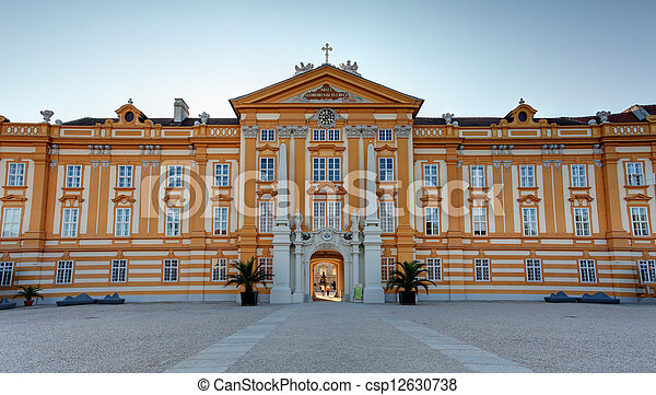 Stift Melk Abbey Church - Austria - csp12630738