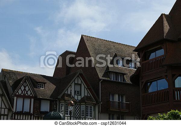 Archivi fotografici di tipico casa deauville normandy for Destinazione casa