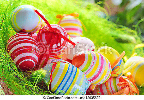 Easter Eggs - csp12635602