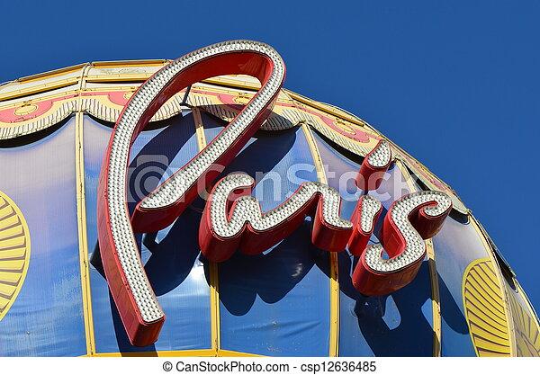 Paris, Las Vegas - csp12636485