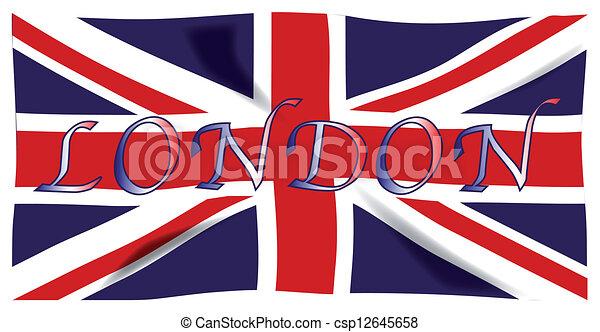 vecteur clipart de londres les britannique union drapeau ou union cric csp12645658. Black Bedroom Furniture Sets. Home Design Ideas