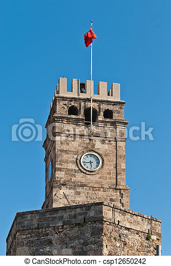 Antalya landmark - csp12650242