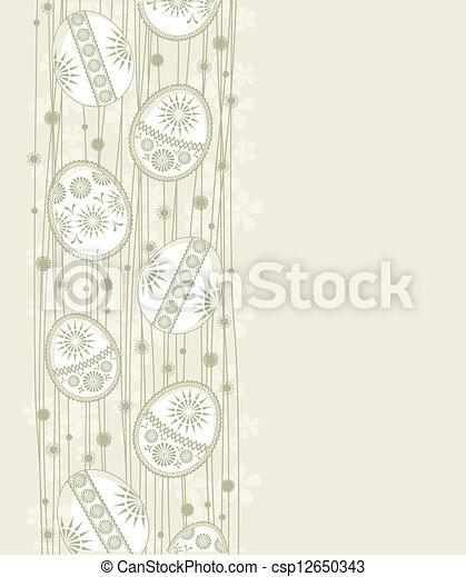 Easter eggs - csp12650343