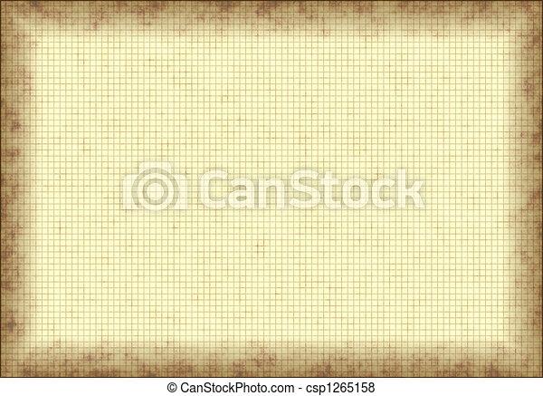 Grunge Graph Paper - csp1265158