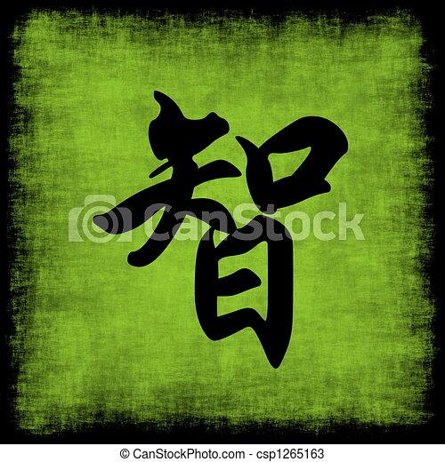 Wisdom Chinese Calligraphy Set - csp1265163