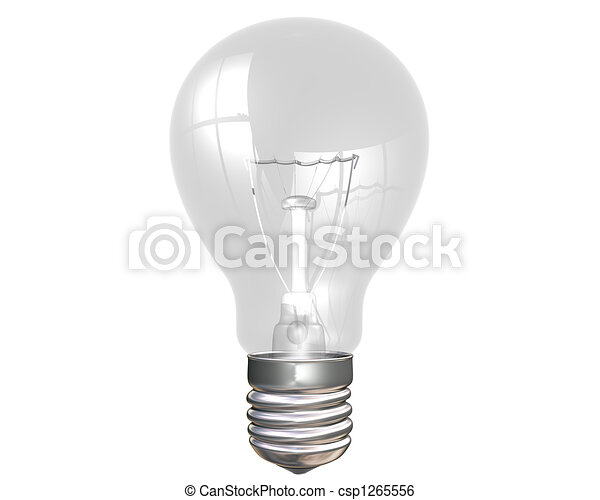Light bulb - csp1265556