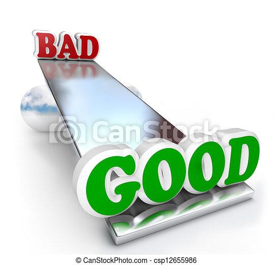 Von positiv und negativ qualities zu machen a entscheidung