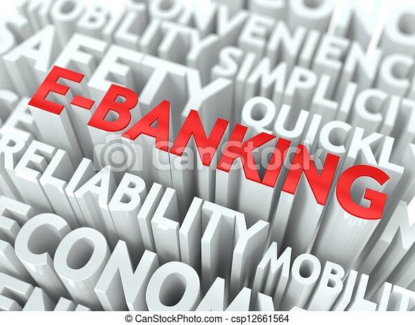 E-Banking Concept. - csp12661564