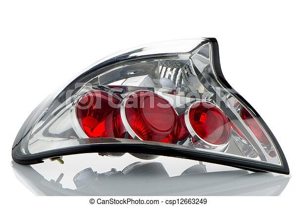 Automobile lamp  - csp12663249