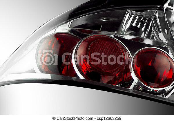 Automobile lamp  - csp12663259