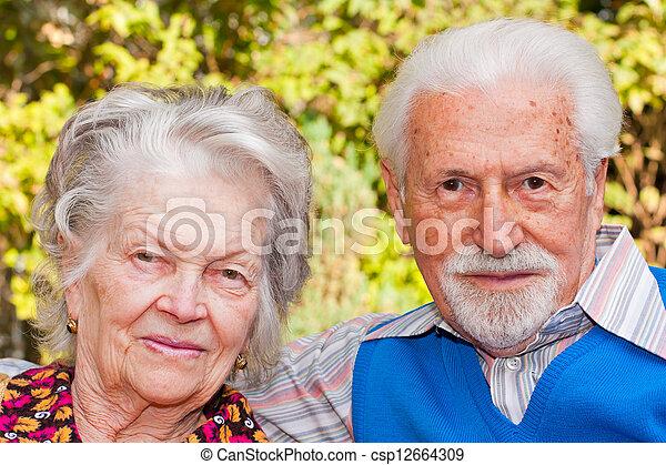 Elderly couple - csp12664309