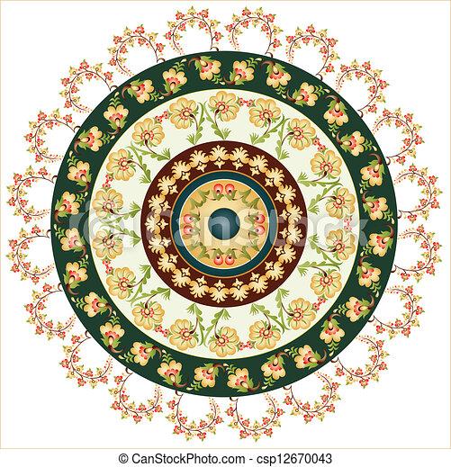 ... Turkish design circle (ottoman style)