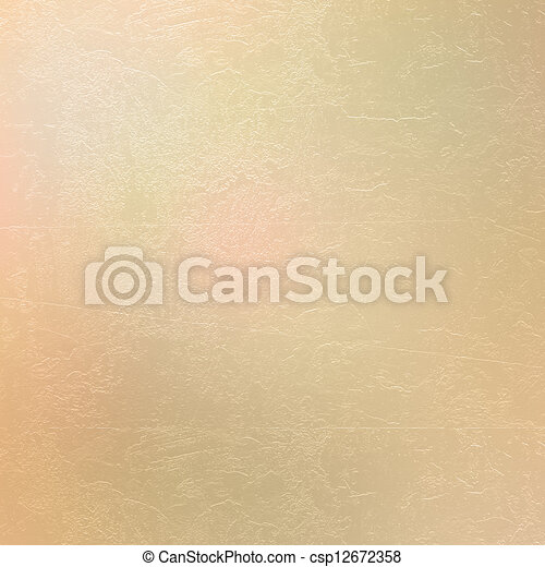 Abstract ancient background in scrapbooking style with gold ornamental  - csp12672358