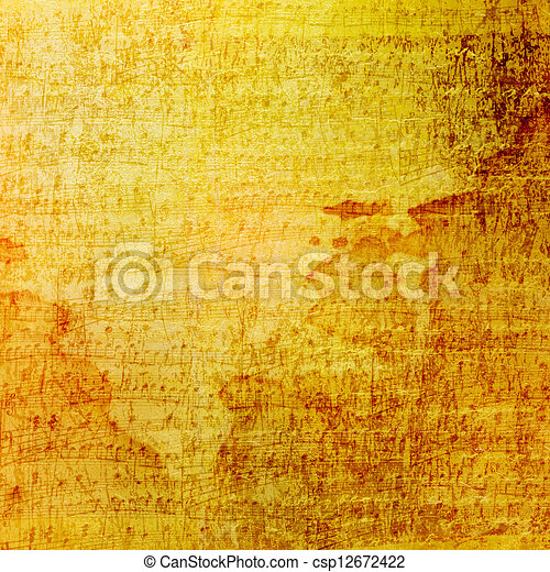 Grunge old paper design in scrapbooking style with handwriting - csp12672422