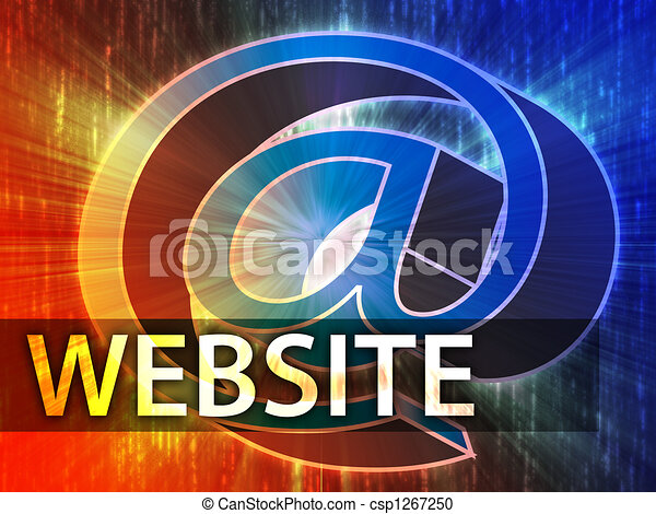 Website illustration - csp1267250