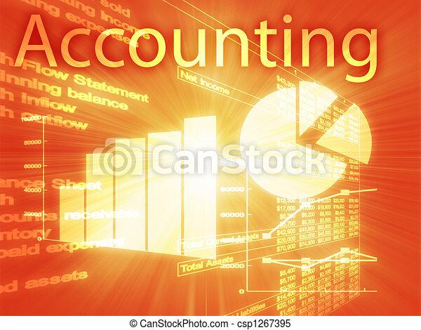 Accounting illustration - csp1267395