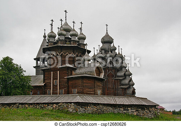 Kizhi church complex - csp12680626