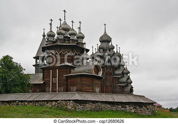 Kizhi church complex - csp12680626