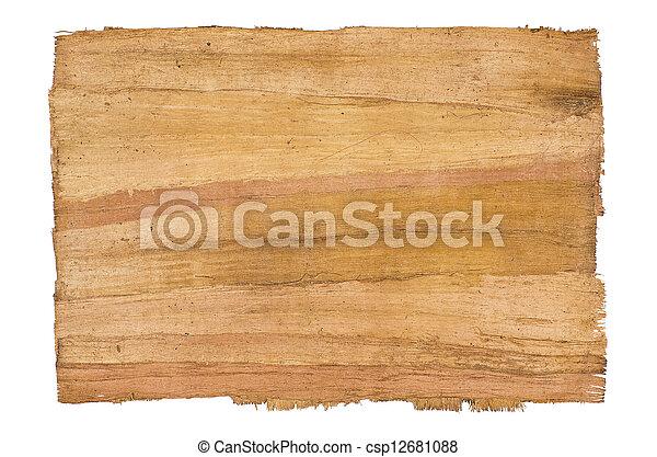 antique papyrus - csp12681088
