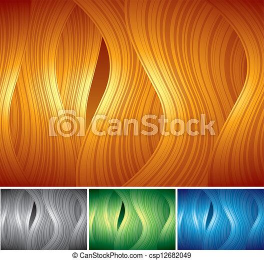Fantasy Background. Set of Vector Images - csp12682049