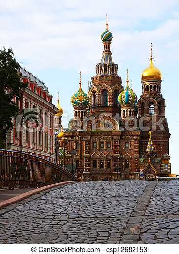 Church of the Savior on Blood - csp12682153