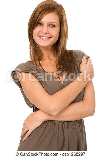 gladness woman - csp1268297