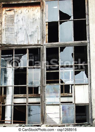 broken window - csp1268916