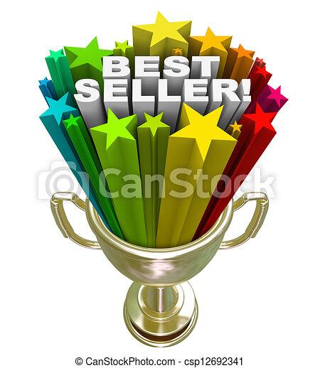 Best Seller Trophy Top Sales Item Salesperson - csp12692341