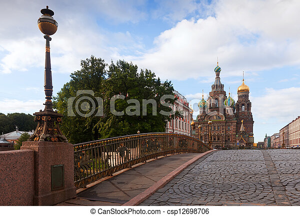 Church of the Savior on Spilled Blood  - csp12698706