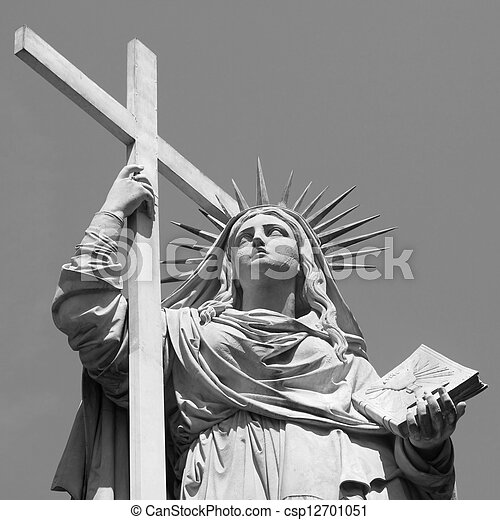 Allegory of Religion - csp12701051