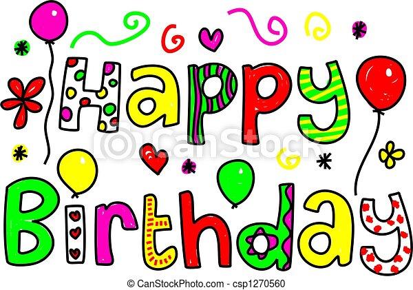 happy birthday - csp1270560