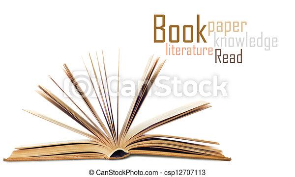 Open book - csp12707113