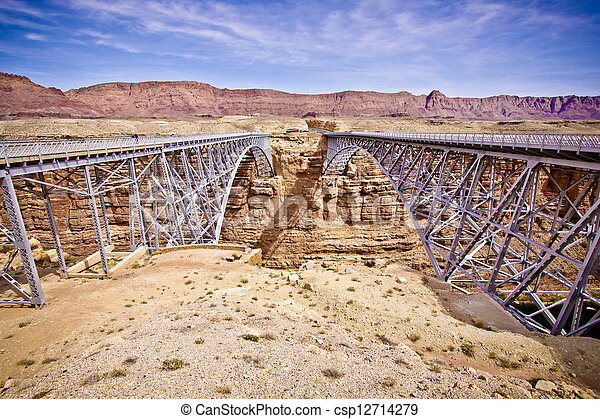 Twin Bridges - csp12714279