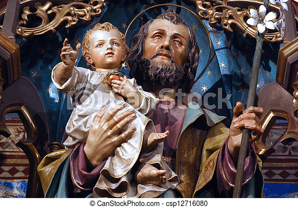 Saint Joseph - csp12716080