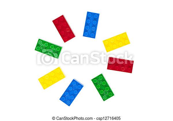 lego circular pattern - csp12716405