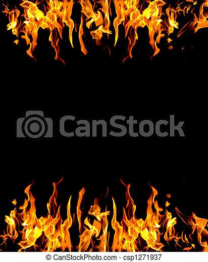 brûler, résumé, fond - csp1271937