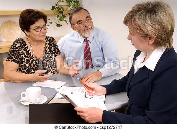 financial planner  - csp1272747