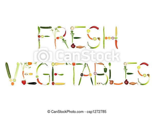 Fresh Vegetables - csp1272785